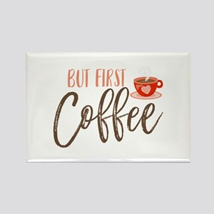 But First Coffee Hand Lettered Magnets