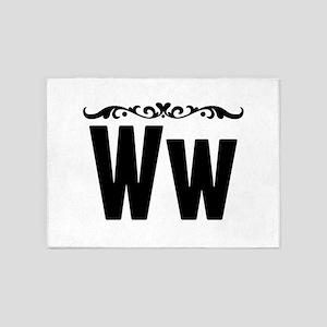 Ww 5'x7'Area Rug