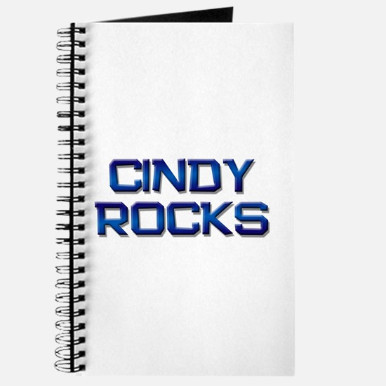 cindy rocks Journal
