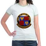 USS NEWMAN K. PERRY Jr. Ringer T-Shirt