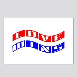 Love Wins Flag Postcards (Package of 8)!