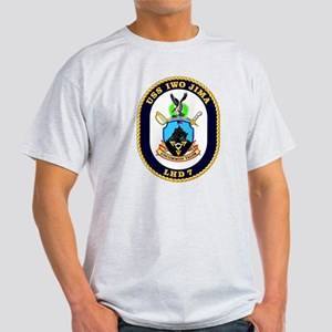 LHD 7 USS Iwo Jima Light T-Shirt