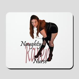 Naughty Nurse Raven Mousepad