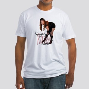 Naughty Nurse Raven Fitted T-Shirt