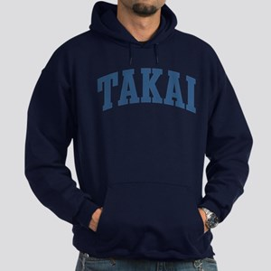 Takai Collegiate Style Name Hoodie (dark)