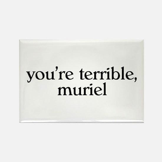 Muriel Rectangle Magnet