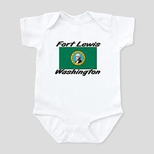 Fort Lewis Washington Infant Bodysuit