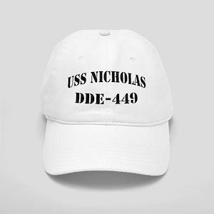 USS NICHOLAS Cap