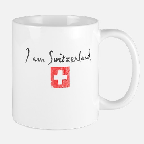 I am Switzerland Distressed Mug