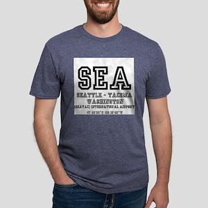AIRPORT CODES - SEA - SEATTLE TACOMA, WASH T-Shirt
