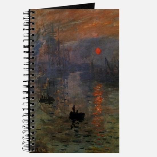 Impression, Sunrise by Claude Monet Journal