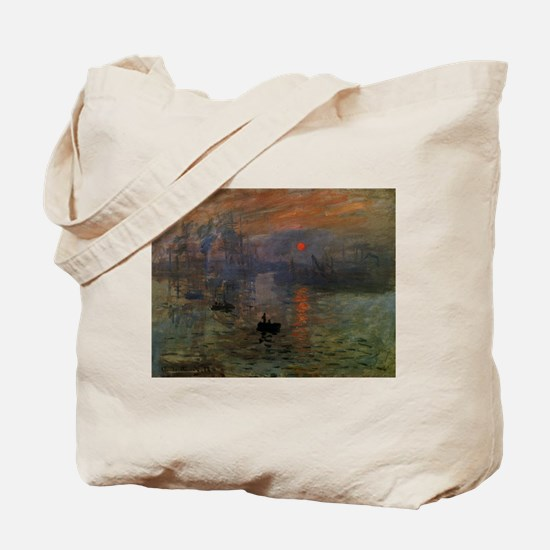 Impression, Sunrise by Claude Monet Tote Bag