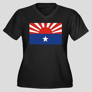 Karen National Liberation Fla Women's Plus Size V-