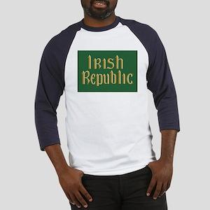 Irish Republic Flag Baseball Jersey