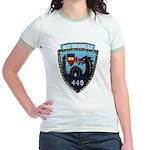 USS NICHOLAS Jr. Ringer T-Shirt