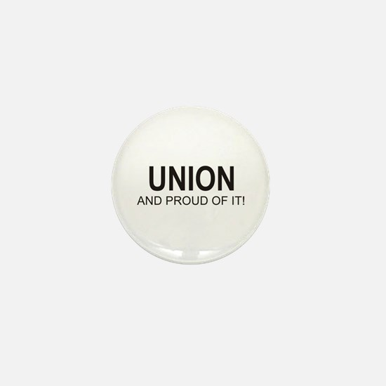 Proud Union Mini Button