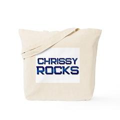 chrissy rocks Tote Bag