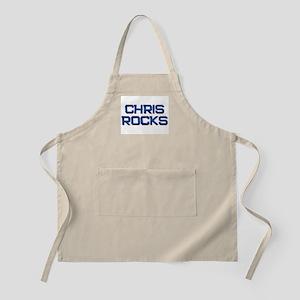 chris rocks BBQ Apron