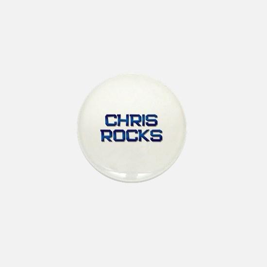 chris rocks Mini Button