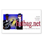 'Hatbag Blues' Sticker