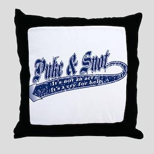Not An Act Throw Pillow