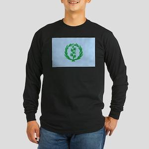Eritrea Flag (1950's) Long Sleeve Dark T-Shirt