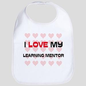 I Love My Learning Mentor Bib