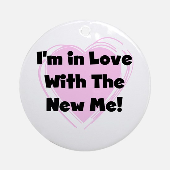 New Me Weight Loss Ornament (Round)
