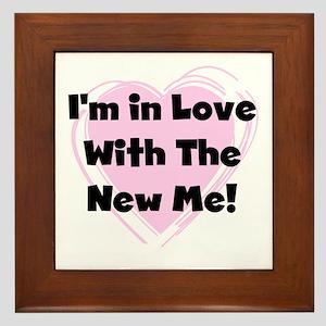 New Me Weight Loss Framed Tile