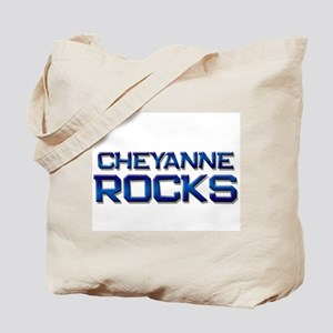 cheyanne rocks Tote Bag