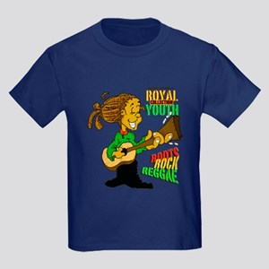 RY Roots Rock Reggae Kids Dark T-Shirt