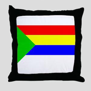 Druze Flag Throw Pillow
