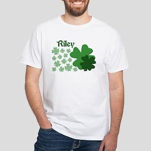 M - R Names White T-Shirt