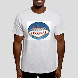 Las Vegas Sign - Ash Grey T-Shirt