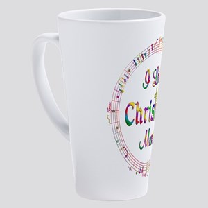 I Love Christian Music 17 oz Latte Mug