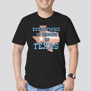 Everything is Bigger in Texas Men's Fitted T-Shirt