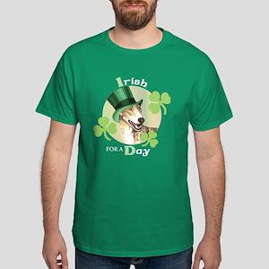 St. Patrick Greyhound Dark T-Shirt