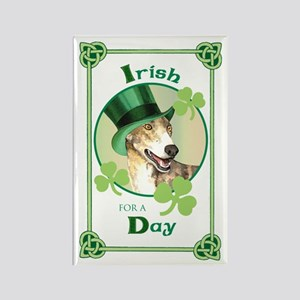 St. Patrick Greyhound Rectangle Magnet