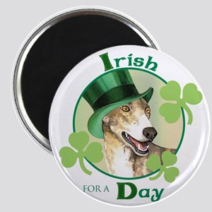 "St. Patrick Greyhound 2.25"" Magnet (10 pack)"