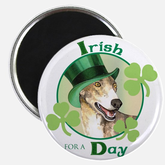 "St. Patrick Greyhound 2.25"" Magnet (10 pack)"