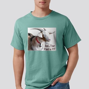Point is Leon White T-Shirt