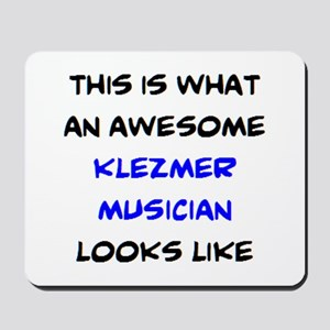 awesome klezmer musician Mousepad