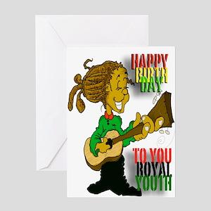 Royal Youth Birthday Greeting Card