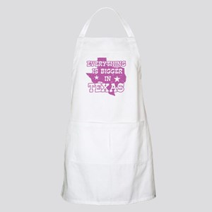 Everything is Bigger in Texas BBQ Apron