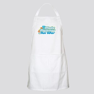 Make Hummus Not War BBQ Apron