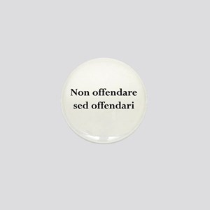 Offended Mini Button