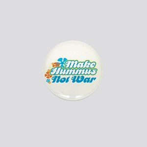Make Hummus Not War Mini Button
