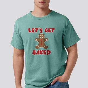 Let's Get Baked Funny Christmas T-Shirt