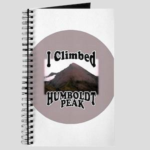 I Climbed Humboldt Peak Journal