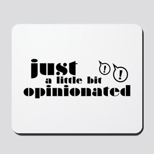 Opinionated Mousepad